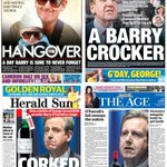 Some of todays front pages #ICAC #BOF The Age the only one worth reading... http://t.co/wkZ7ccPCFv