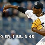 Michael Pineda was in shut-down mode for the #Yankees tonight. http://t.co/Zp8qCsJb8i