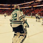 RT @DallasStars: Weve got warmups! #GoStars http://t.co/tIM9yUppRC