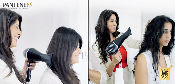 Watch what happens when Mahie Gill takes the Pantene challenge. Challenge us to your #hairdare http://t.co/x1kYMCKfz7 http://t.co/GZ92VRXvVP