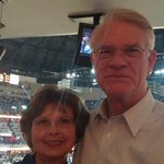 Enjoying @memgrizz game with my wife Pat. Lets finish strong! #GrizzNation http://t.co/1AKy0WvLYP