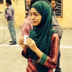 RT @ShivAroor: Hate those who ask for my vote because Im Muslim. Student Nida casts her first vote in Rampur. #YourVote2014 | http://t.co/iTjDaPGM1s