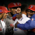 The @Rangers have played 9 home games. This is their FOURTH #walkoff: http://t.co/dVm71FqPfq http://t.co/Jfmzvc0XDq