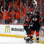 Pretty good start to #StanleyCup Playoffs for @AnaheimDucks who lead Dallas 4-0 mid-2nd per. http://t.co/0MSHfxvCAs http://t.co/g6nL2MkNvO