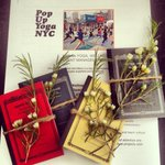 RT @PopUpYogaNYC: Goodies for @beespacenyc corporate workshop. #nonprofit #NYC #sustainable #business #yoga http://t.co/XFG4qv8I8A