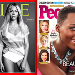 RT @janetmock: Get into their beauty! @beyonce slays @Time days after @Lupita_Nyongo snatches @peoplemag! #time100 #MostBeautiful http://t.co/kGzMucgNbq