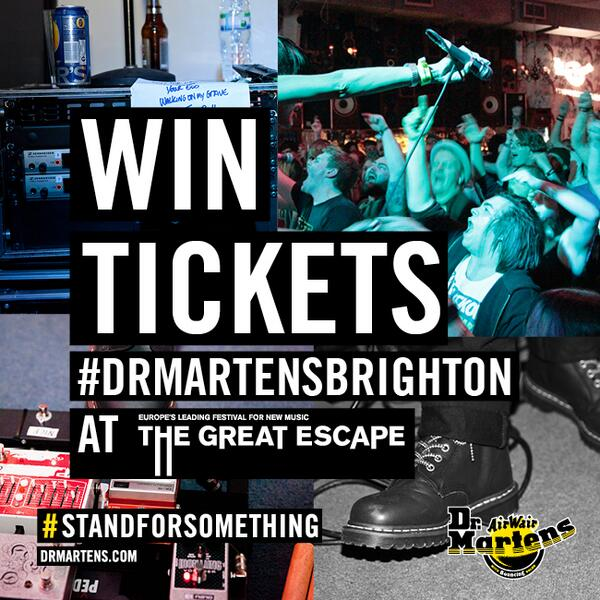 WIN weekend tickets + travel (UK Only) + accommodation for @thegreatescape Brighton, 8-10 May. RT TO ENTER http://t.co/8fCUmUFHwy