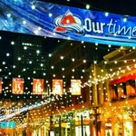 Larimer Square decked out with #Colorado @Avalanche banners, game four tonight. @DenverChannel #WhyNotUs http://t.co/1Ggbbs7X8d