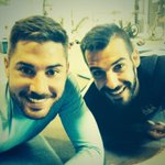 After training a good gym session with @_AlvaroNegredo_ !! http://t.co/InANwWv6pz