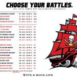 ICYMI, the #Bucs released their 2014 schedule last night and will open at home vs Carolina: http://t.co/G6I3Ng90Mr http://t.co/U5byzKjV4R