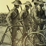 Beach rd is flanked by many war memorials a low voice/silence is order of the day when riding past Lest we Forget http://t.co/mSnveoUldT