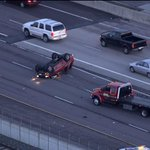 Be on the lookout for a Green Ford truck that left the scene of the SB 225 rollover. Plate #829-WTR http://t.co/3C9z2Ig9qE