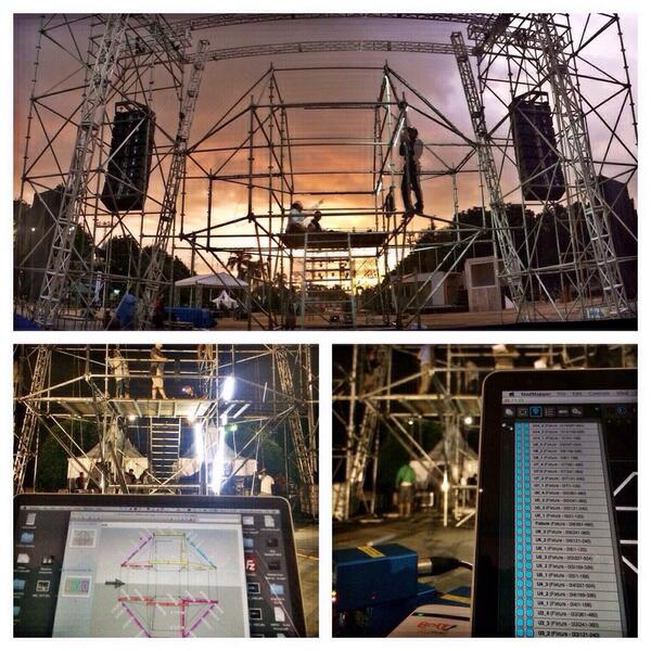 THE STAGE IS ALMOST READY! 2DAYS MORE TO GO! Are you #INorOUT ? http://t.co/fqpaDMNnXe #neversaymaybe @mslideproject http://t.co/n2u4kQtgwX