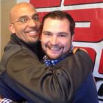 Best friends forever. @coachjfranklin @JerryValeri #107kstrong #bffs http://t.co/n7xhAXeowT