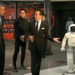 VIDEO: President Obama plays soccer with robot during visit to Japan: http://t.co/hBJoGtdeHi http://t.co/dne0wbirVN