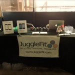 All ready @NYTechDay! Visit us at booth 268. Check out our apps & learn to juggle...for real! #nytd #nyc #nycevents http://t.co/8iWGQo3gs2