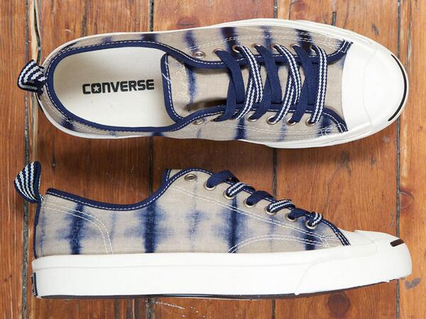. @Converse use a Japanese dyeing technique with the First String Shibori Jack Purcell shoes http://t.co/xuHHJiLdfj http://t.co/RjIQeboC8a