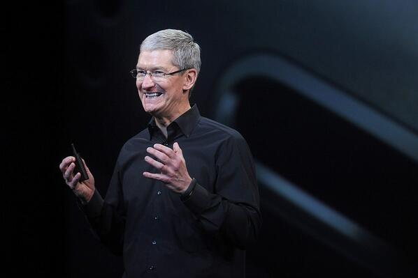 CEO Tim Cook on silencing chatter Apple is in decline: Maybe it will take some new products.