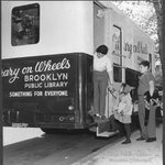 "In honor of #tbt, check out this 1950s image of BPLs ""Library on Wheels!"" http://t.co/EurnhigYql"