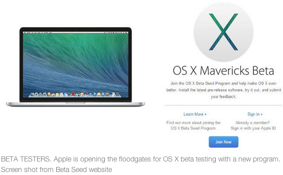 Is Apple's OS X Mavericks Beta the best operating system? You can test it yourself! Details:
