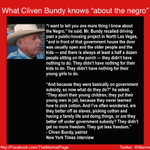 """@Marmel: Theres reason #BundyRanch felt a little ""Klan-ish."" Cliven Bundy is exactly who you thought he was: http://t.co/uXdDx7QVn4""Word!"