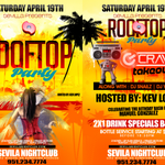 18+THE BIGGEST ROOFTOP PARTY INSIDE #SEVILLA RIVERSIDE SATURDAY! SAY JUANS G-LIST TEXT9512347774 http://t.co/4s80pFWtID