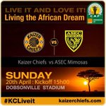 RT @Kaizer_Chiefs: Kaizer Chiefs vs. ASEC Mimosas tickets are on sale for R40 at Computicket & Shoprite/Checkers #LivingTheAfricanDream http://t.co/Y88BSkb4Y3
