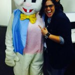 The #Easter bunny came to visit @mediaworldSA all the way from @ecr9495! Screamed from excitement. Bunny is now deaf. http://t.co/LiwARbm7Un