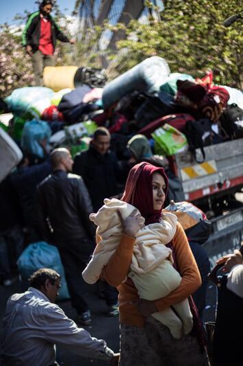 senza casa a roma