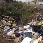 Streets in Mandela Section, Embalenhle which DA reported to HRC, ANC run Govan Mbeki muni has still not rectified. http://t.co/YgKx5nSnVJ