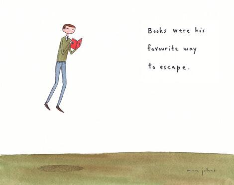 Books were his favourite way to escape: http://t.co/O9iaNJIxDe