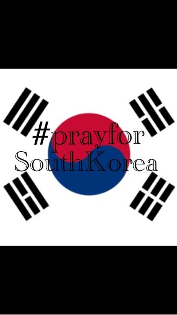 Please pray for Korea... http://t.co/JLVj5RvFeF