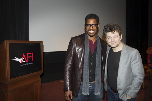 #TBT with the best in the biz, Mr. Andy Serkis. http://t.co/NuaKDkqg7P