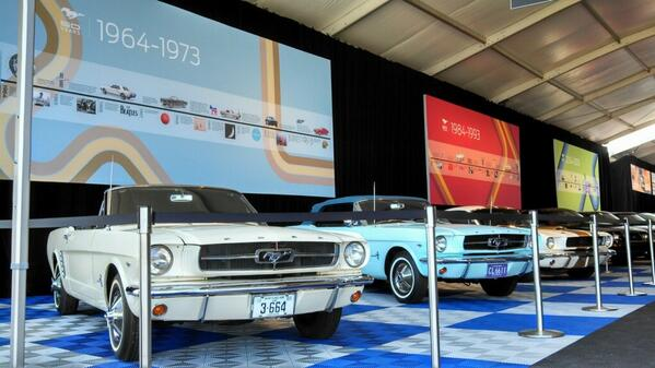 Our Mustang Serial #1 is celebrating its 50th birthday w/ @Ford & the Mustang Club of America #FordMustang50 http://t.co/l91CXQl9pU