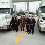 Questar Fueling cuts the ribbon on their compressed natural gas facility in S. Topeka. #wibw http://t.co/QrKcEhtibx