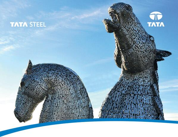 100ft high landmark horses have Tata Steel at their heart http://t.co/DV8qC2aOpS http://t.co/CYrRTxKgaH