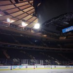 The calm before the storm... #LGR @TheGarden @NYRangers @NHL #StanleyCupPlayoffs http://t.co/kqE2vQmdPU
