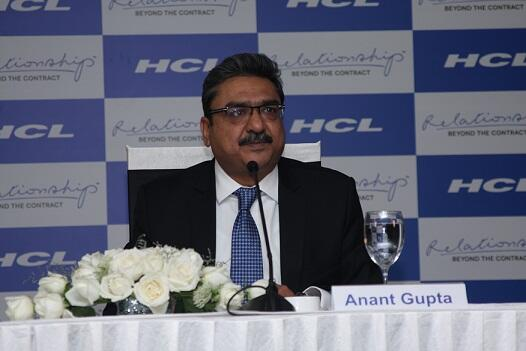 #HCLQ3FY14 Press Conference:- Anant Gupta (CEO, HCLT) addressing to the questions put by media. http://t.co/5qCD4REWcD