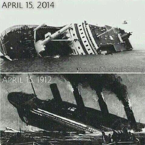 Same date, same month, same tragedy but different year. #Coincidence #prayforsouthkorea 😢 http://t.co/u1cKdK2Mgy