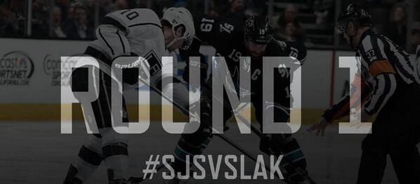 Today is the day the battle begins. @SanJoseSharks vs @LAKings can't wait. #besttimeofyear http://t.co/VC0uWB5mHF