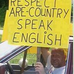 What about respecting English?https://t.co/HbkNgwAORX