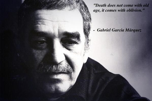 Dilara Yılmaz (@DilaraYlmz): #GabrielGarciaMarquez #RestInPeace #rip http://t.co/KtSkNsH2mU
