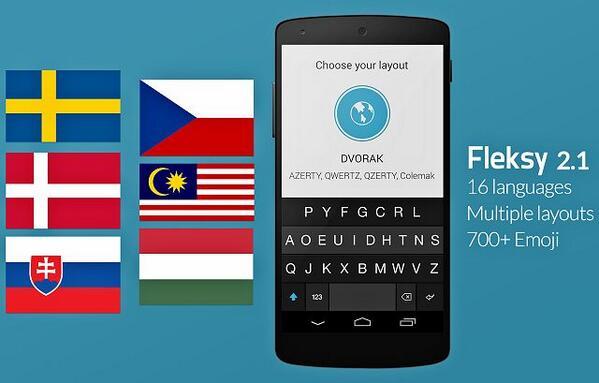 Fleksy: 16 γλώσσες, 205 χώρες, Dvorak keyboard, Ελληνικά για όλους http://t.co/gYeqpWa5Ez #fleksy http://t.co/tslpx4EPxg