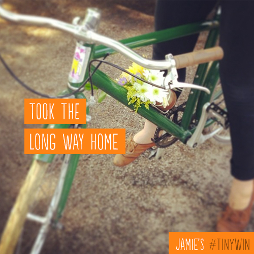 Went for the first bike ride of the season! #tinywin http://t.co/WIT3C7IOBh