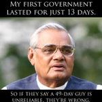 RT @agyanendra: RT @maheshmurthy: A message from Atal Behari Vajpayee to voters: http://t.co/HCKhIfkwXB