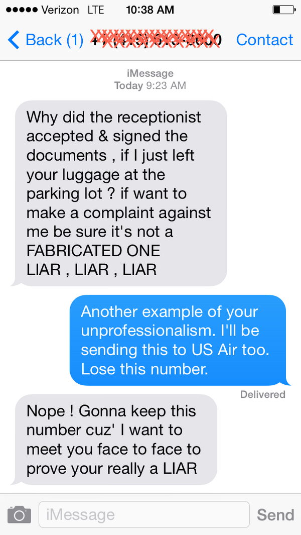 .@USAirways He's now threatening to meet me in person and he knows where I work. This needs to stop. IMMEDIATELY. http://t.co/4CbyqkBkHl