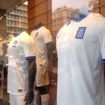 RT @dgatopoulos: Greece shirts go on sale at Syntagma store. #WorldCup2014 55 days to go. #greece http://t.co/sb6cKe6Iyb