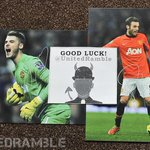 COMPETITION: Win signed David de Gea & Juan Mata 12 x 8 photographs. Simply RT & follow @UnitedRamble to enter. #MUFC http://t.co/5OqNcfVrVl