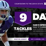RT @kstatesports: A special teams star in 13, Hiebert had 9 stops & blocked a punt. Spring Game in 9 days! Tix: http://t.co/HycHj3mJNH http://t.co/W0EqNzlNpg