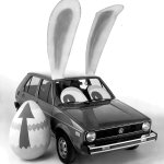 RT @VW: A very relevant #TBT for this weekends holiday. #VW #Rabbit http://t.co/7CtgkZHiYp